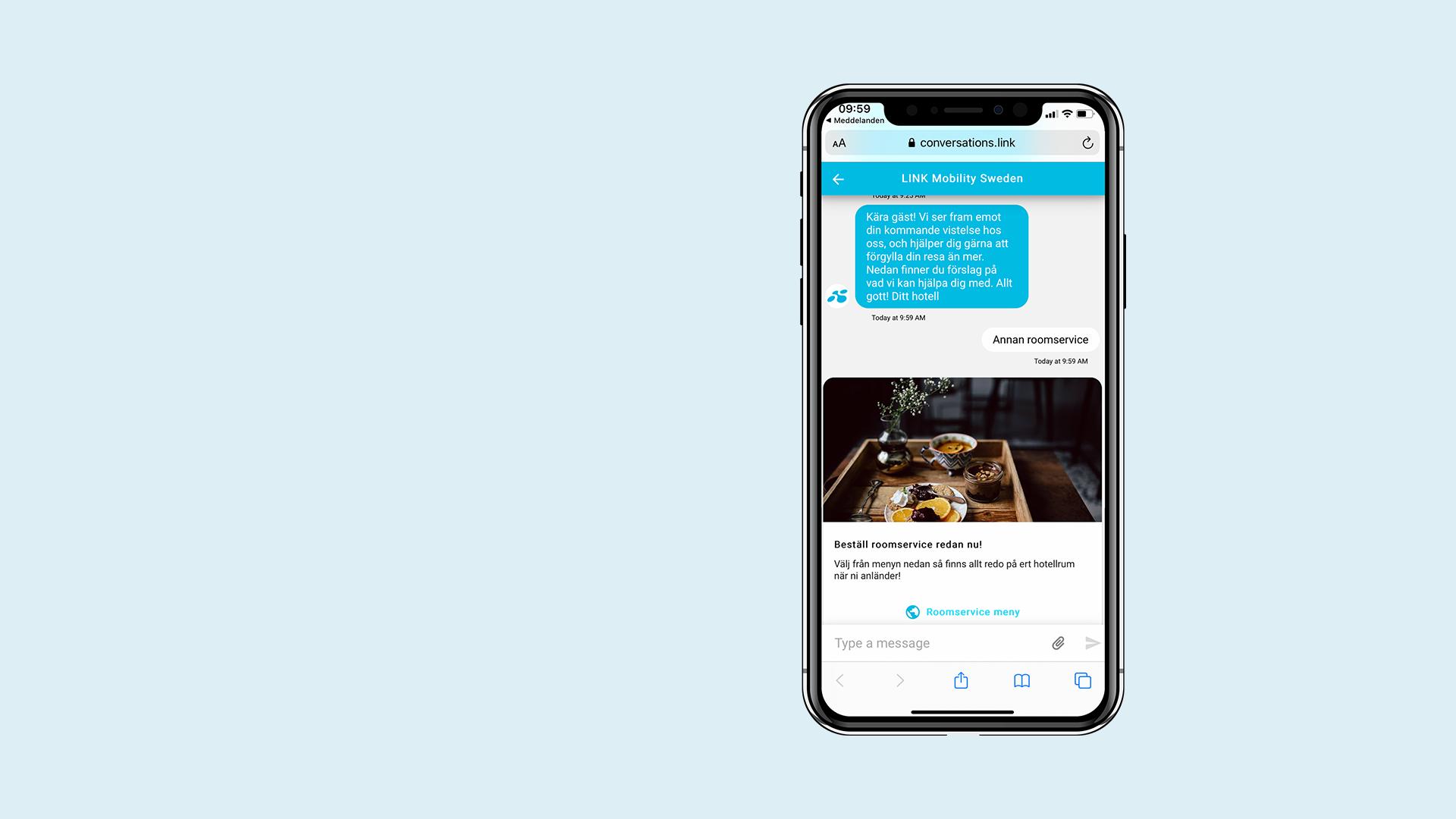 Engagerande kunddialog via SMS - LINK Conversations