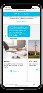 Kommunikation för energibolag - välkomstsms