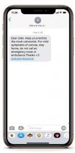 SMS-kommunikation - offentlig sektor och myndighet