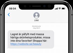 Så kan e-handeln utvecklas med SMS - påfyllt lager
